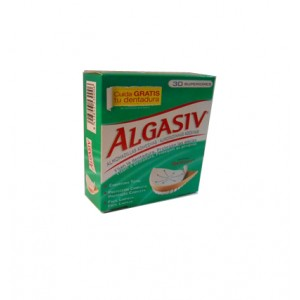 Algasiv dentadura superior 30unid