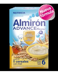 Almirón papilla Advance 8 cereales con miel 500gr