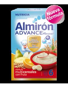 Almirón papilla Advance multicereales con fruta 500gr