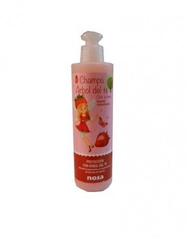 Champu arbol de té rosa olor fresa 250ml