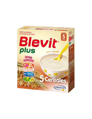 Blevit Plus papilla 5 cereales 600gr