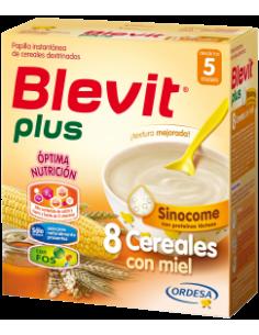 Blevit Plus papilla 8 cereales con miel Sinocome 600gr
