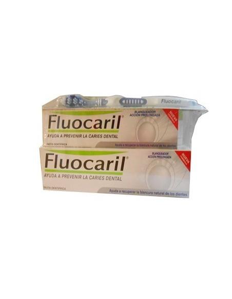 DUPLO Fluocaril blanqueador pasta dentífrica 125ml+75ml