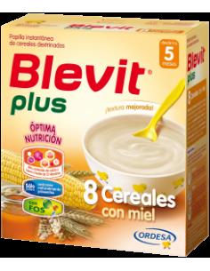 Blevit Plus papilla 8 cereales con miel 600gr