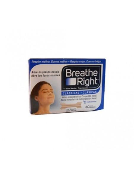 Breathe Right Tiras nasales 30 tirasgrandes
