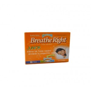 Breathe Right Junior Tiras nasales 10 unidades