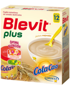 Blevit Plus papilla Cola Cao 600gr