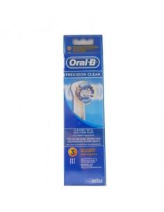 Oral B recambios precisión clean 3 unidades