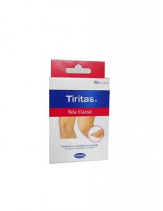 Tiritas Tela classic recortables 10 unidades 6x10cm