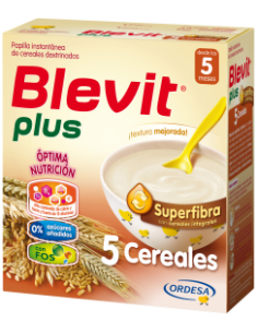 Blevit Plus papilla Superfibra 5 cereales 600gr