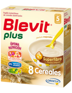 Blevit Plus papilla Superfibra 8 cereales 600gr