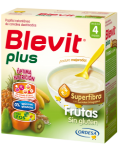 Blevit Plus Superfibra frutas sin gluten 600gr