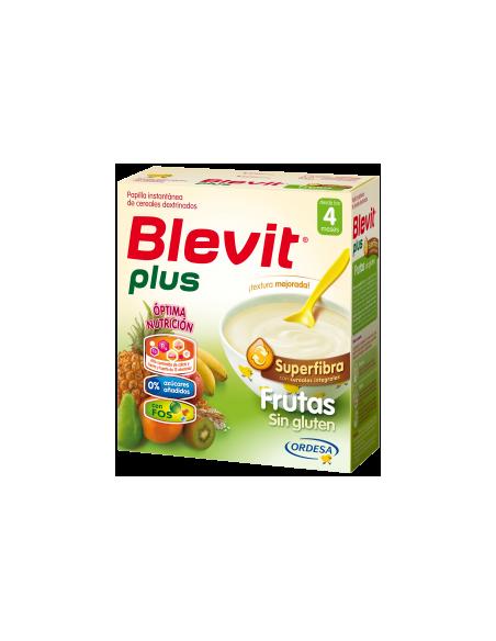 Blevit Plus papilla Superfibra frutas 600gr