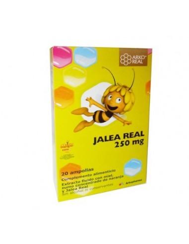 Jalea real arko ampollas 250mg 20 ampollas