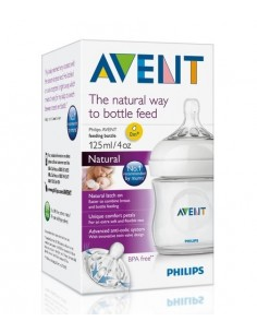 Avent biberón natural 125ml