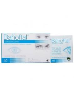 Bañoftal toallitas oculares 20 und