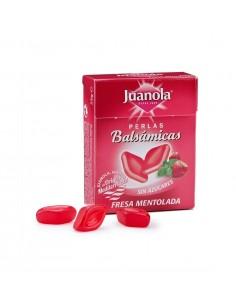 Perlas juanola fresa mentolada 25g