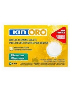 Kin oro tabletas limpiadoras