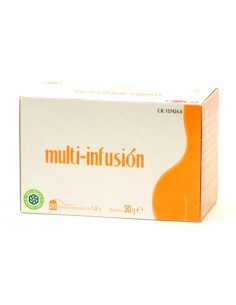 Multi-infusion nc control de peso 20 bolsitas