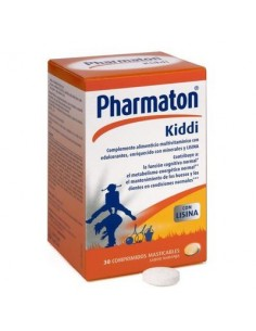 Pharmaton kiddi 30 comp mastic.