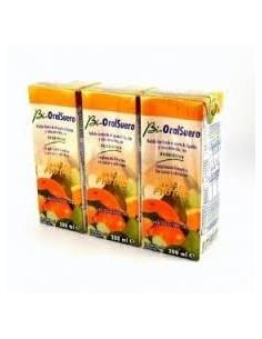 Bioral suero frutas 3x200ml