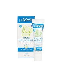 Dr brown´s pasta dental infantil natural 40gr