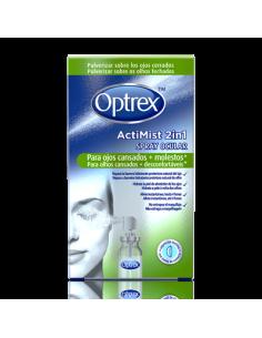 Optrex actimist 2 en 1 spray ocular ojos cansados
