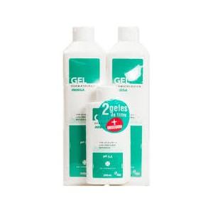 Inibsa gel dermatologico pack 2 unid