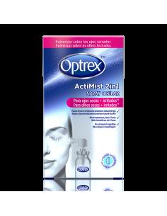 Optrex actimist 2 en 1 spray ocular ojos secos