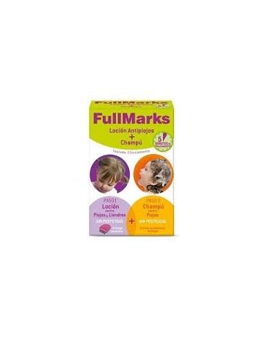 Fullmarks antipiojos y liendres locion+champu