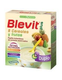 Blevit plus duplo 8 cereales y fruta