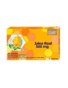 Jalea real 500mg 20 ampollas
