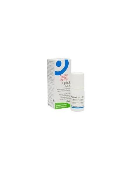 Hyabak solucion hidratante ocular 10ml