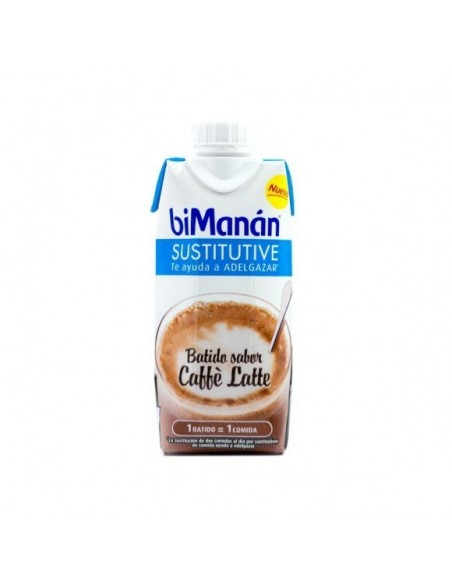 Bimanan sustitutive batido de cafe con leche 330ml