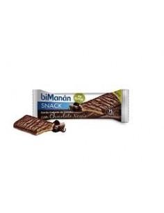 Bimanan barrita crujiente chocolate negro entre horas