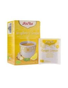 Yogi tea jenjibre y limon 17 bolstias