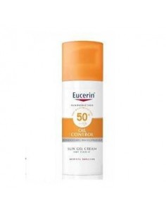 Eucerin sun protection 50+ gel crema rostro oil