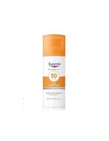 Eucerin sun protection 50+ gel crema rostro oil