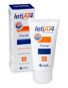 Leti AT4 crema facial SPF 20 50ml