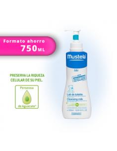 Mustela loción leche limpiadora 750ml