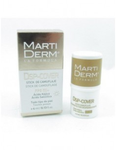 Martiderm dsp-cover fps 50+ 4ml stick despigmentante