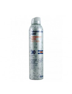 Fotoprotector isdin 30+ spray transparente 200ml