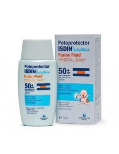 Fotoprotector isdin 50+ fusion fluid mineral niños