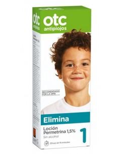 OTC permetrina 1,5% loción-gel 125ml