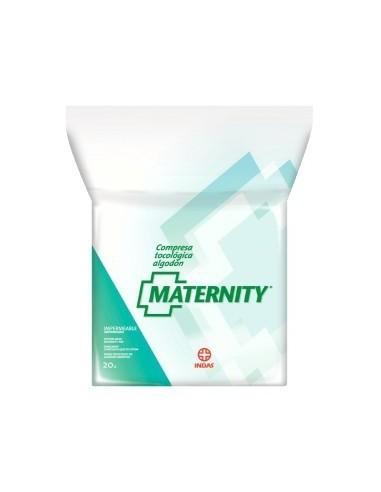 Compresa Maternity algodón 20 unid