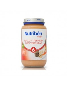 NUTRIBEN POLLO TERNERA VERDURA 250GR