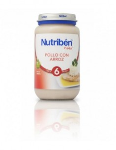 Nutriben pollo con arroz 235gr