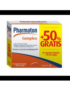 Pharmaton complex 60 + 30 capsulas