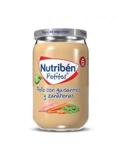 Nutriben pollo con guisantes y zanahorias 235gr