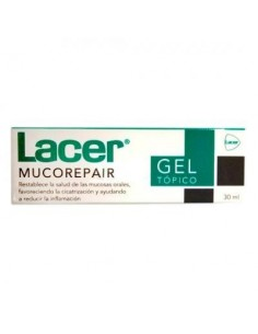 Lacer mucorepair gel topico 30ml